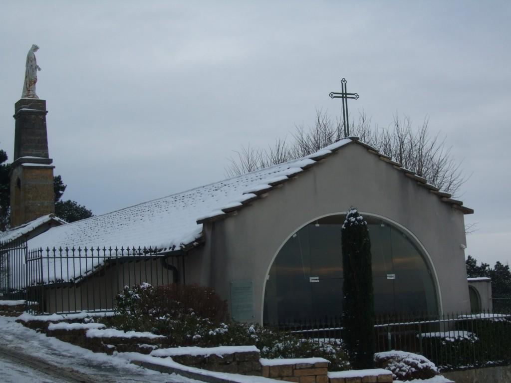 la chapelle actuelle
