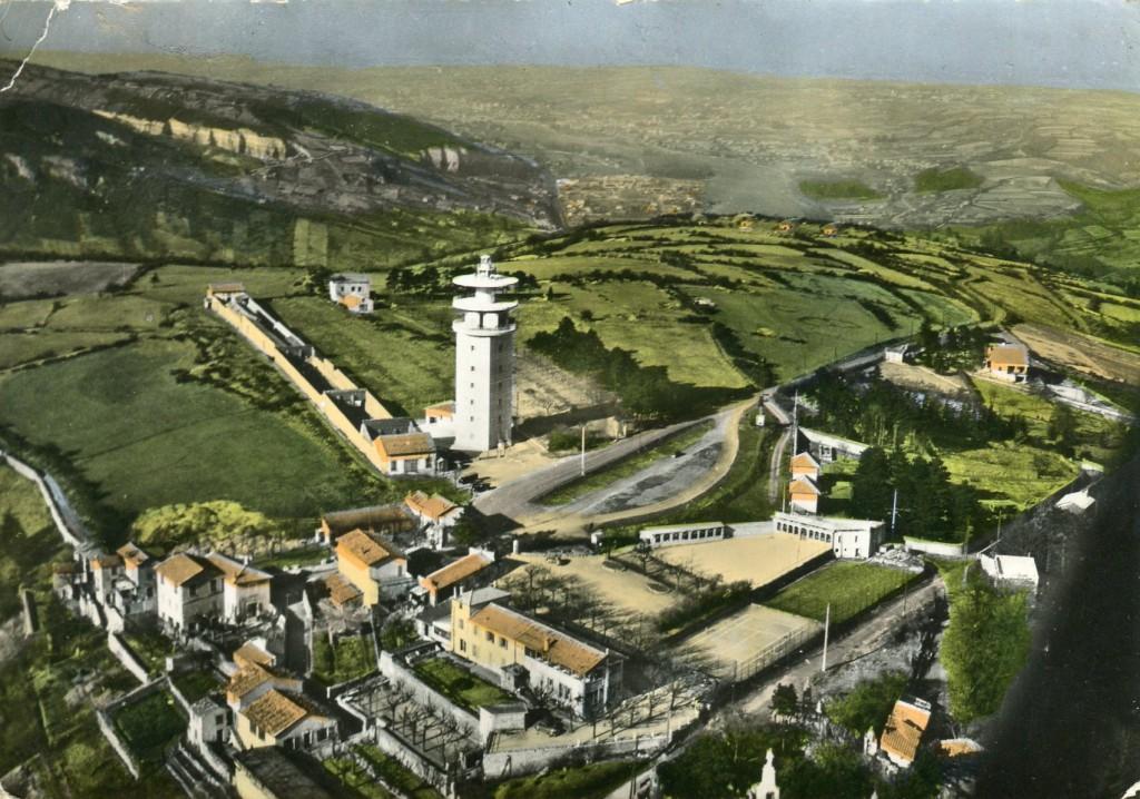 Vue aérienne du Mont Cindre